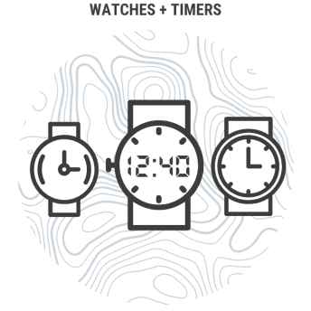 Watches Timers Menu Icon